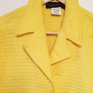 Harve Benard Jackets & Coats - Harve Benard quilted coat jacket -sunshine yellow